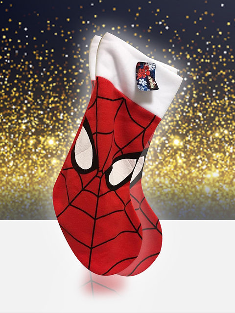 Spiderman Christmas.Spiderman Christmas Stocking