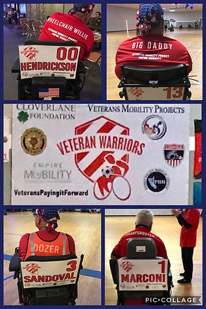 Veteran Warriors, Veteran Mobility Proje