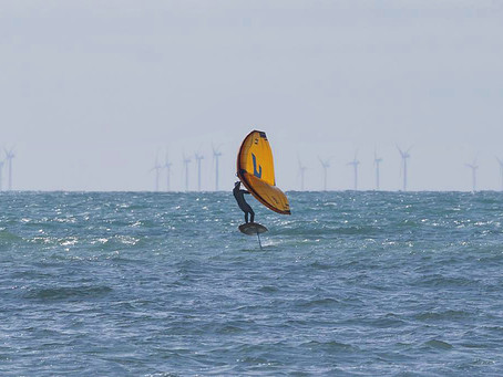 Wing Foiling - The New Craze in Watersports!