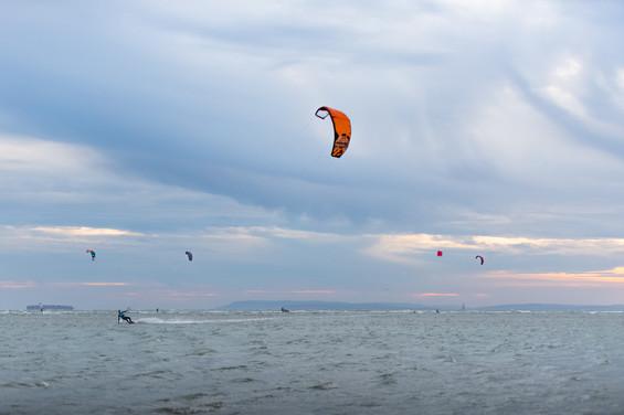 Kiting the South Coast