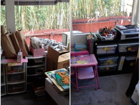 Before & After: The Sun Room