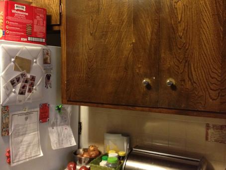 """Organizing My """"Pantry"""" With Jars."""