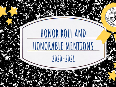 Honor Roll and Honorable Mentions