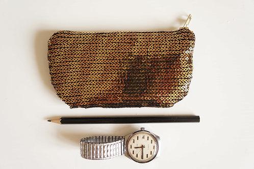 kapsa GOLD / black 13,5 cm x 7 cm