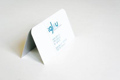 IGLOU / vizitky