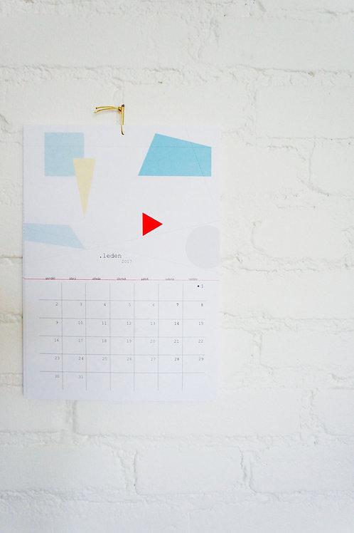 Kalendář na roztrhání