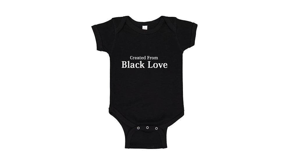 Created From Black Love Onesies