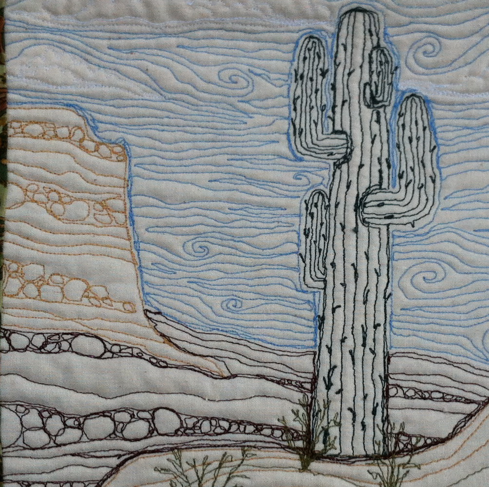 desert quilting only