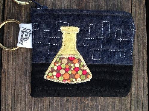 Erlenmeyer flask zipper bag