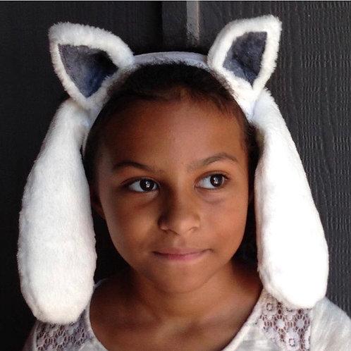 Cat dog headband - Undertale Temmie inspired