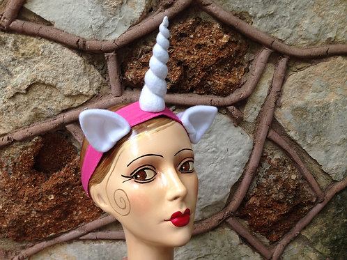 Unicorn horn with ears