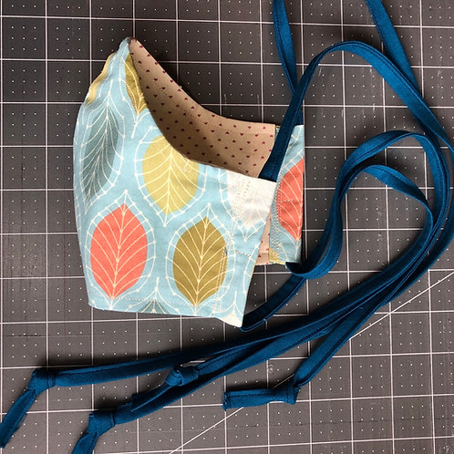 Custom Order - Curved Fabric Face Mask
