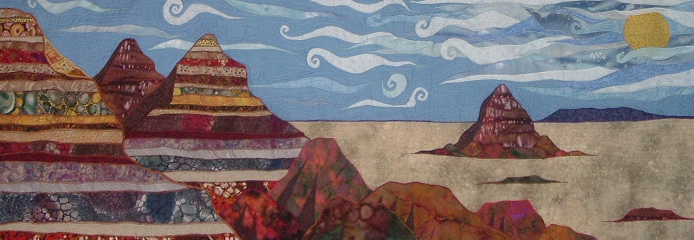 painted desert no border