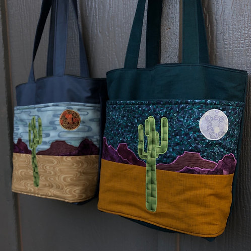 Desert Tote - Night or Day