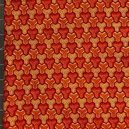 0178 - orange geometric