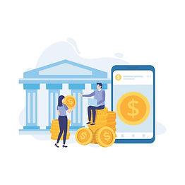 menschen-mit-geldbankfinanzierung-geldwe