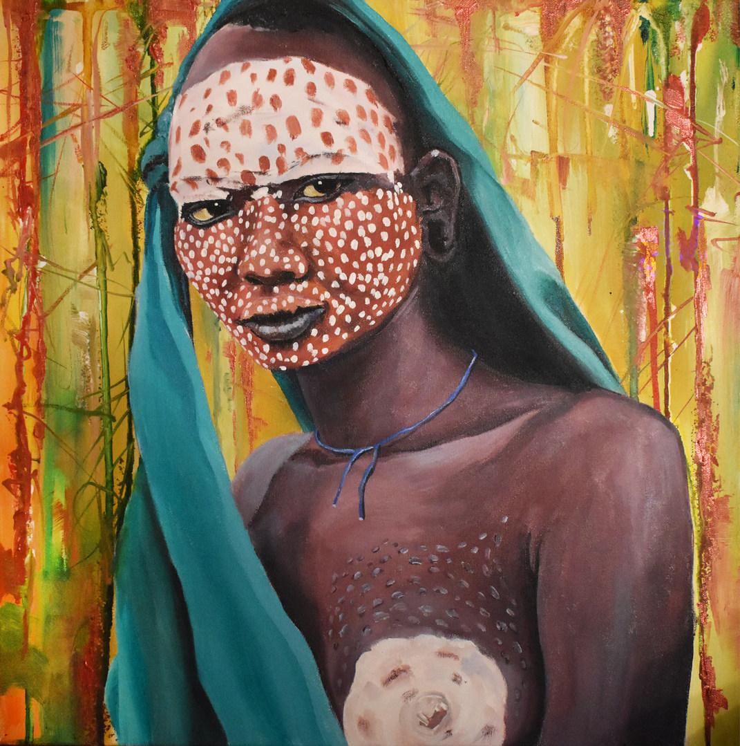 Surma Tribe girl 2