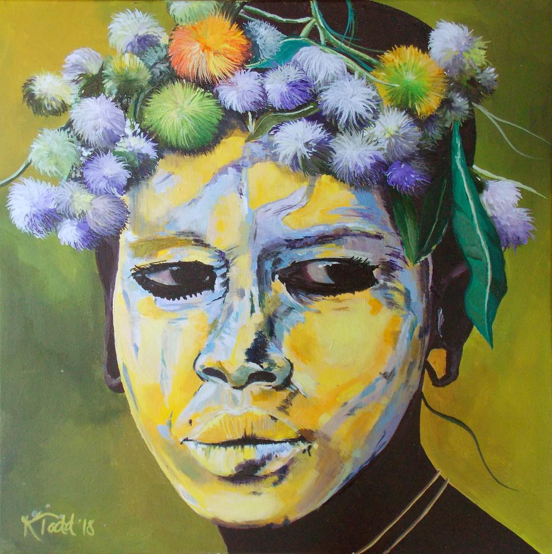 Suri Tribe Girl of the Omo Valley