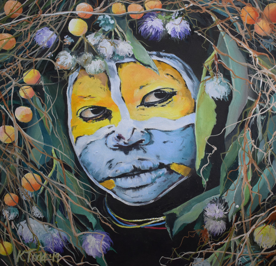 Surma Tribal Decoration