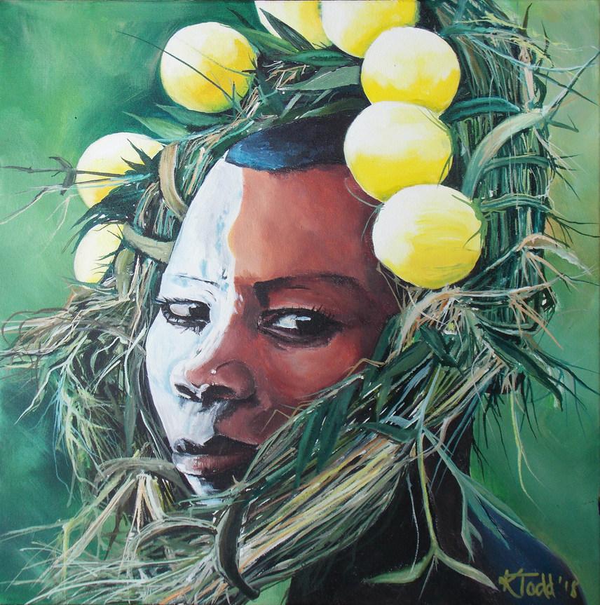 Suri Tribe Girl 3