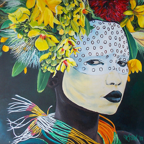Omo Valley Girl - Limited Edition Print
