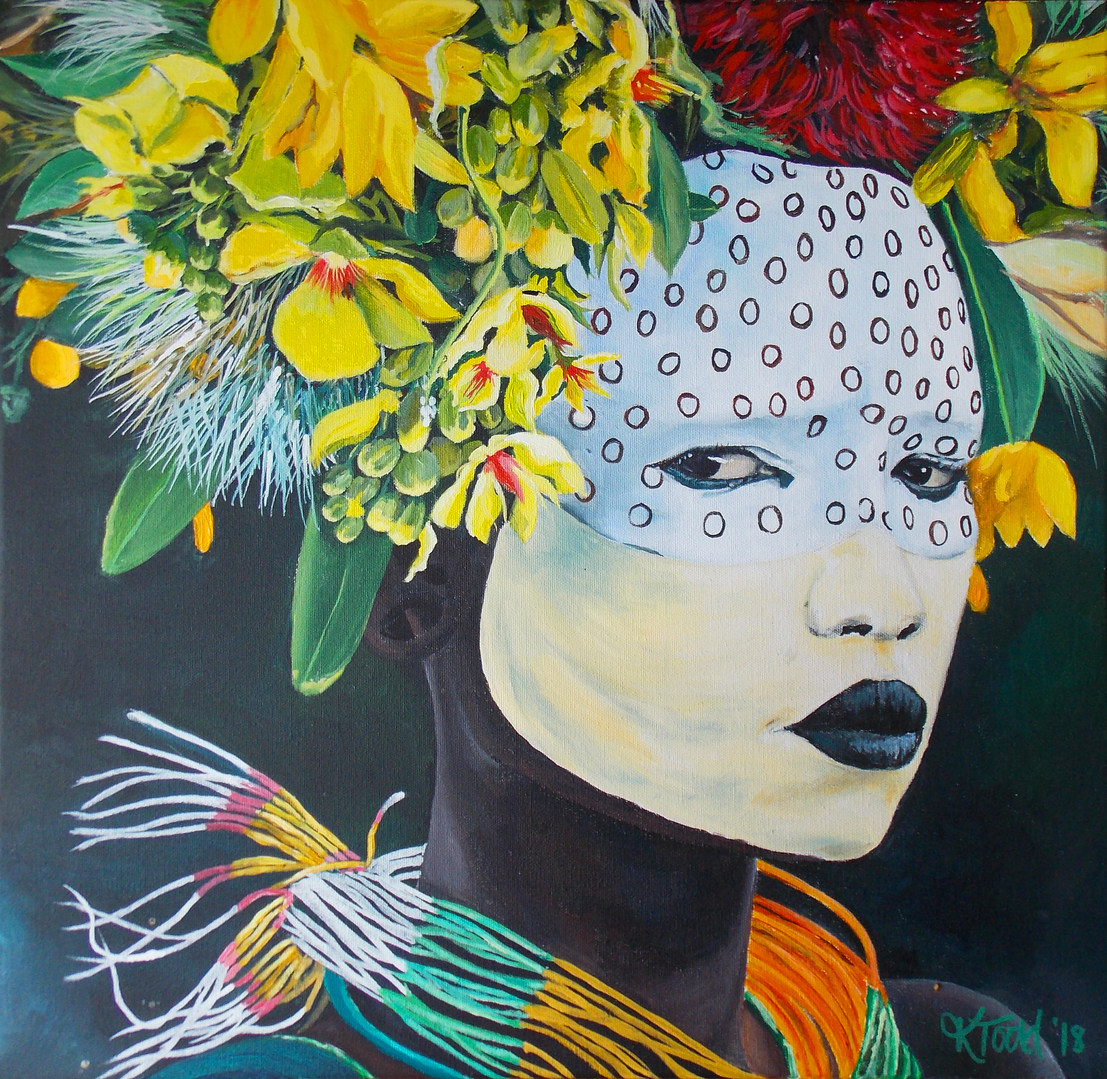 Suri Tribeswoman