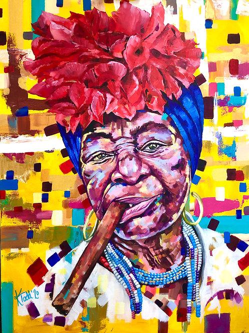 The Divine Feminine - Havana Cigar!