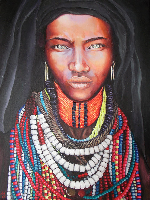 Arbore Woman - Limited Edition Print