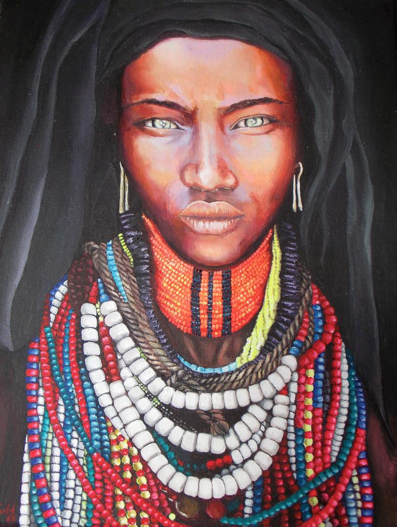 Arbore Tribeswoman