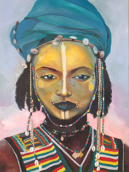 African Tribal - Limited Edition Print