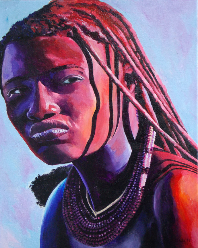 Himba Tribeswoman