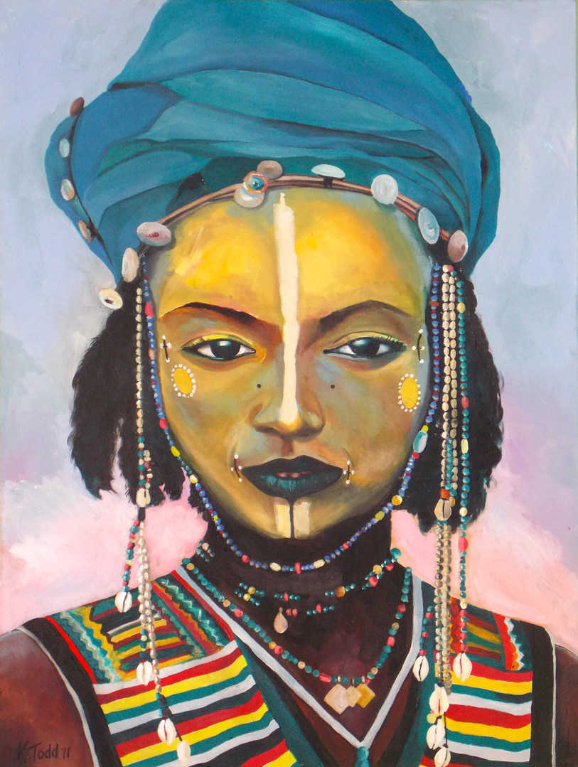 African Tribal Girl