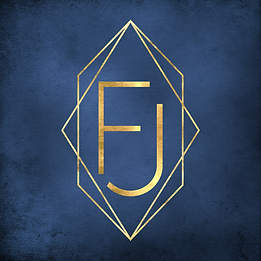 Gold Logo Blue Background Square.png