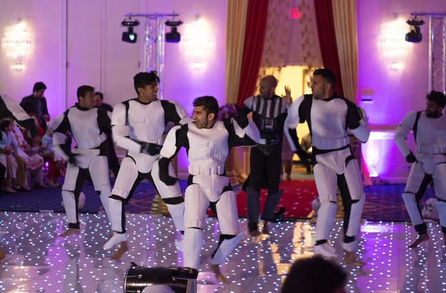 Star Wars At Pakistani Wedding