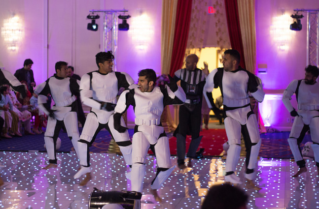 Star Wars At Pakistani Wedding