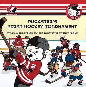 Book Puckster's First Hockey Tournament