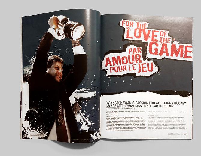 Magazine Spread Love Game