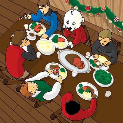Puckster Sad Supper