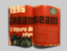 Magazine Spread Dream Team