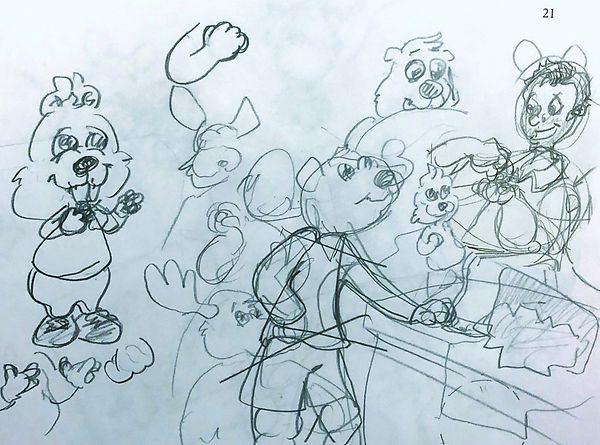 Puckster Sketch