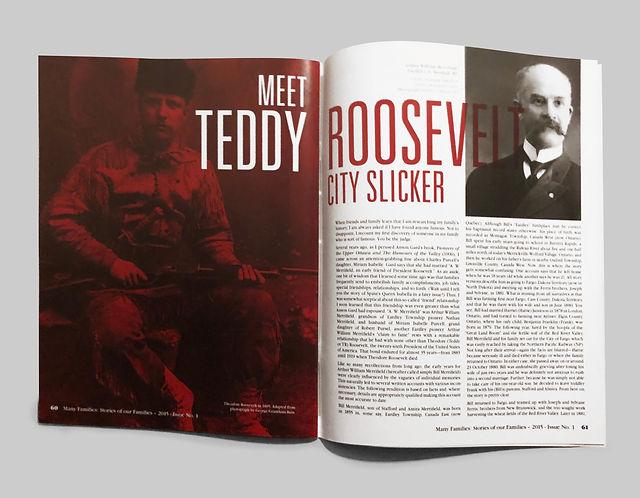Magazine Spread Roosevelt