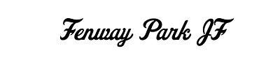 Typeface Fenway Park JF