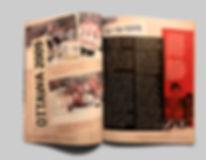 Magazine Spread Scrap Book