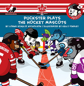 Book Puckster Plays The Hockey Mascots