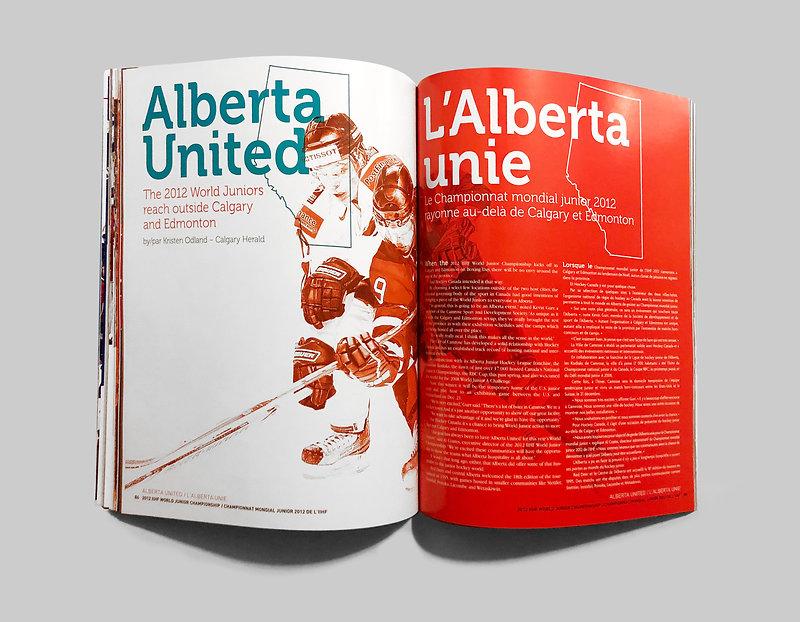 Magazine Spread Alberta United