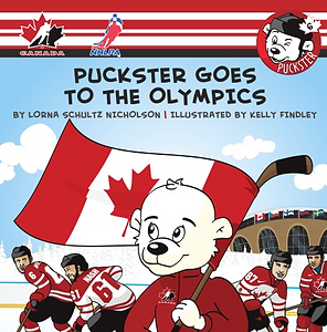Book Puckster Goes To The Olympics