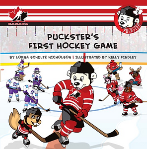 Book Puckster's First Hockey Game