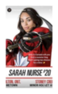 Sarah Nurse Drake Champagnepapi Instagram Story