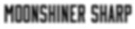 Typeface Moonshiner