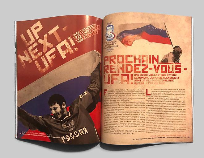 Magazine Spread Russia
